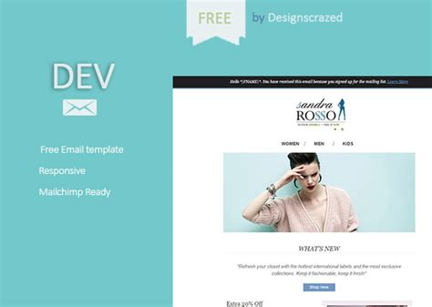 Html Mail Template Free by 35 Best Responsive Html Email Templates Free Premium