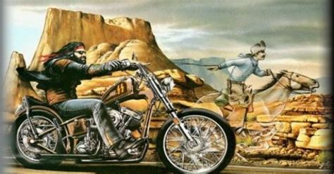 David Mann Bike Art