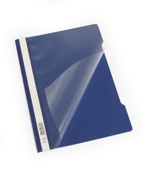 Clear View Folder-Report File A4 PP - Dark Blue, 50 Pack ...