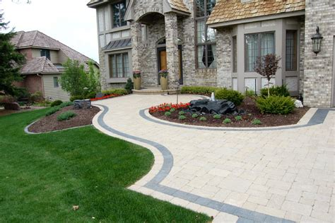 landscaping and driveways driveway art contemporary landscape minneapolis by daryl melquist bachmans landscape