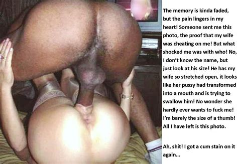 Blonde Wife Black Cock Captions
