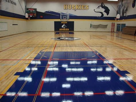 Game Court Markings Painting Redecorating Services From