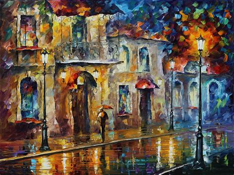 Palette Knife Oil Painting On