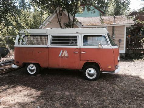 1970 Vw Bus Camper Westfalia For Sale In Spokane, Wa