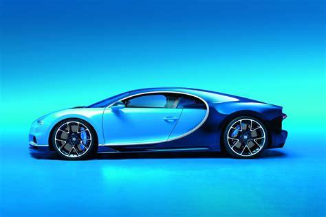 the veyron's successor: bugatti chiron side view ...