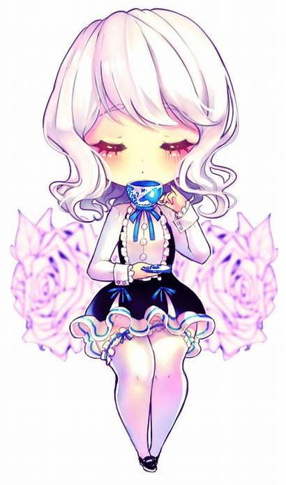 Chibi Anime Kawaii Yamio Tea Deviantart Drawings