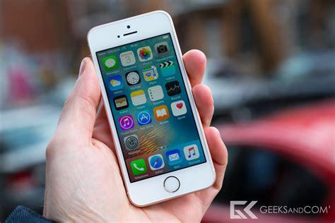 iphone and test du iphone se d apple comme un air de d 233 j 224 vu geeks