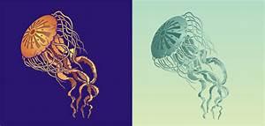 Jellyfish Stencil