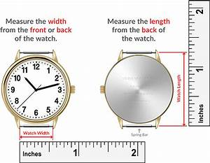 How To Measure My Watch Macraband