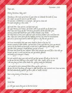 2012 november according to nina With baby letter from santa