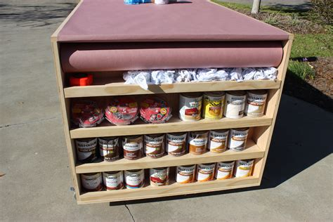 diy portable workbench  storage  plans