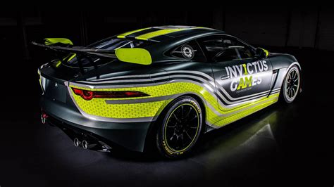 Jaguar And Invictus Games Racing Field F-type Svr Gt4