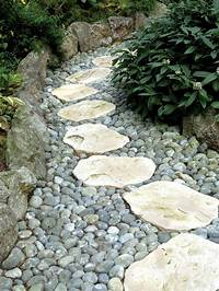 landscape stepping stones 43 Awesome Garden Stone Paths | DigsDigs