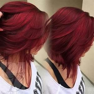 Best 25 Red Bob Hair Ideas On Pinterest Red Long Bob