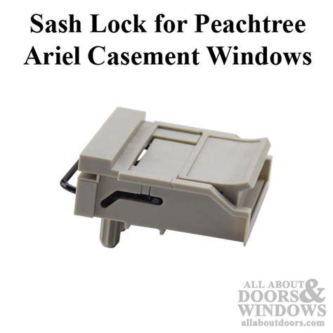 peachtree window parts sash lock casement driftwood
