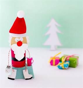 Weihnachtsmann Basteln Aus Pappe : nikolaus aus klorolle basteln weihnachtsmann basteln ~ Haus.voiturepedia.club Haus und Dekorationen