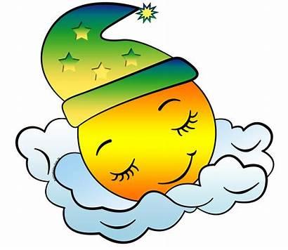 Abend Clipart Smiley Nacht Gute Night Alli