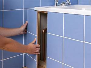 how to apply a sealant to grout and tiled areas how tos With tiled access panels bathroom