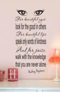 Beautiful Eyes Audrey Hepburn Quote