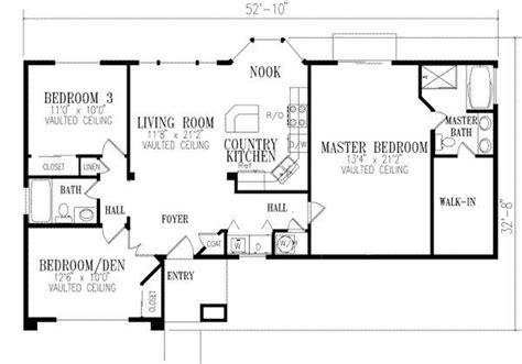 2 Bedroom Open Floor Plans by Open Floor Plans Perks And Benefits House Plans In 2019