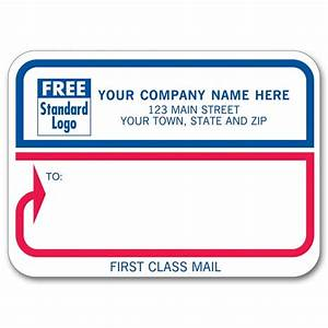 first class padded mailing labels 072 at print ez With first class mail label