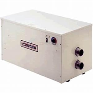 Coates Heater Co  Electric Pool Heater 36kw 240v Single Phase - 12436phs3