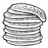 Pancake Pancakes Crepe Stack Drawing Clipart Icon Breakfast Coloring Getdrawings Transparent Meal Iconfinder Webstockreview Cleanpng sketch template