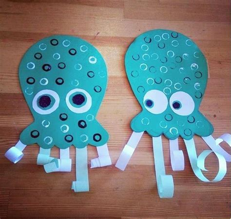 pin by marvz24 on crafts octopus crafts sea animal 826 | e797bf11eb9904fcd56958934d2e368d