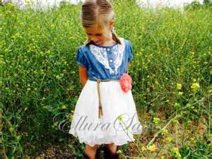 country wedding flower dresses flower dress denim flower dress denim toddler tutu dress western dress