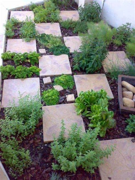 44 Practical Backyard Herb Garden Arrangement Ideas