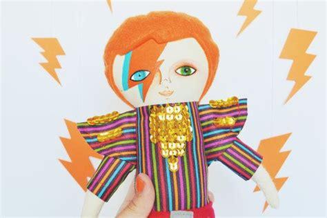 david bowie doll aladdin sane cloth doll