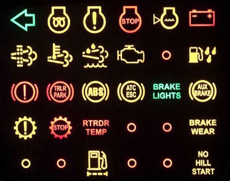 audi a4 light malfunction cummins dashboard warning symbols clipart library