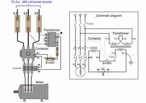 Start Stop Motor Control Circuit Diagram