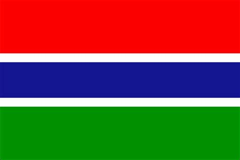 gambia flag  large images
