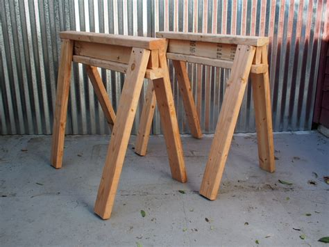build stackable sawhorses