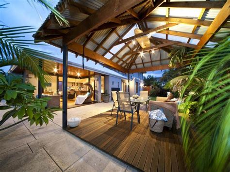 outdoor area design ideas outdoor living design with bbq area from a real australian home outdoor living photo 230793