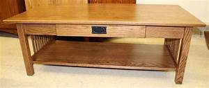 mission coffee table w drawer amish traditions wv With amish oak coffee table