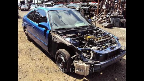 Is Acura Part Of Honda by 2000 Honda Civic Si Parts Auto Wreckers Recyclers