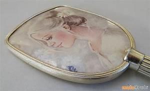 Miroir à Main : vintage ancien miroir main mulubrok brocante en ligne ~ Teatrodelosmanantiales.com Idées de Décoration