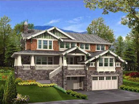 hillside garage plans hillside house plans ayanahouse