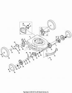 Troy Bilt 12av566m011  2008  Parts Diagram For Drive