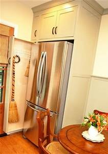 Pull-out Broom Storage in a Kitchen - Kitchen - DC Metro