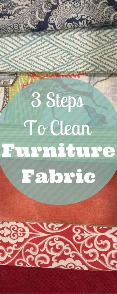 Easy To Clean Upholstery Fabric by How To Clean Furniture Upholstery Fabric 3 Simple Steps