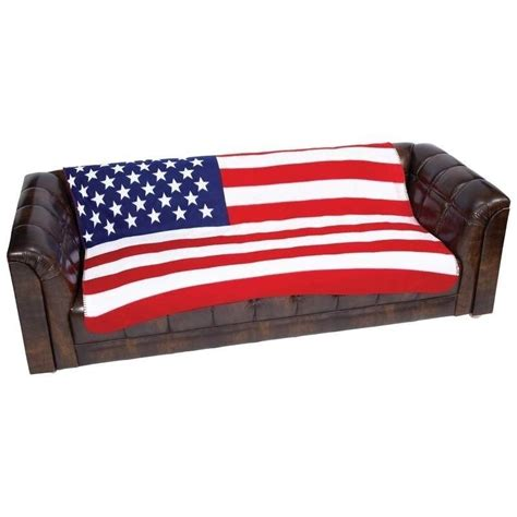 Blanket Cover by New Us Flag Soft Plush Fleece Blanket Bed Sofa Cover Throw