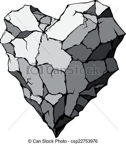 Corazón piedra global organizado forma color free