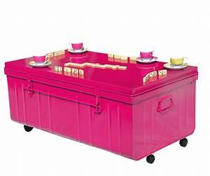 Table Basse Sur Roulette : table basse malle sur roulettes pierre henry l1000xprof ~ Melissatoandfro.com Idées de Décoration