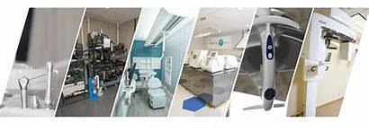 Equipment Dental Technology Benco Collage Diagonal