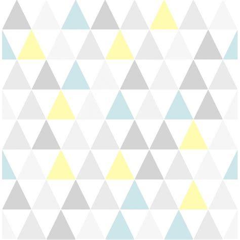 tapisserie chambre fille ado papier peint tarek bleu jaune scandinave graham brown