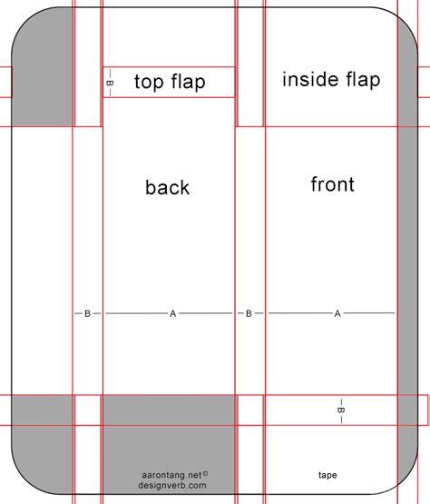 business card box template pdf papertoy bizz part 2 mck mck