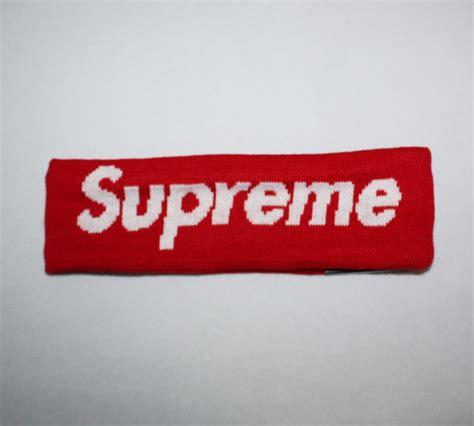 new era supreme 2014fw new era supreme headband dopestudent